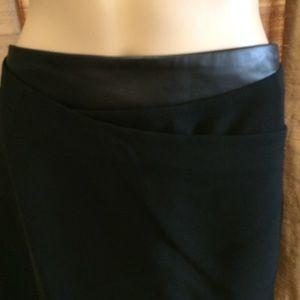 Rebecca Minkoff Skirts - Rebecca Minkoff Wrap Skirt w/Leather Waistband-NWT